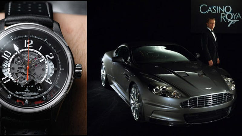 Jaeger Lecoultre Watch Unlocks Aston Martin Dbs