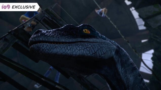 Jurassic World s Blue Is Back in an Exclusive Clip From Camp Cretaceous