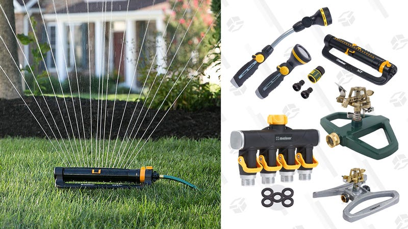 Melnor Sprinklers & Watering Equipment Gold Box | Amazon