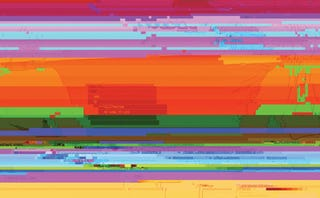 Illustration for article titled Computer Screen Glitches Can Be a Beautiful Thing