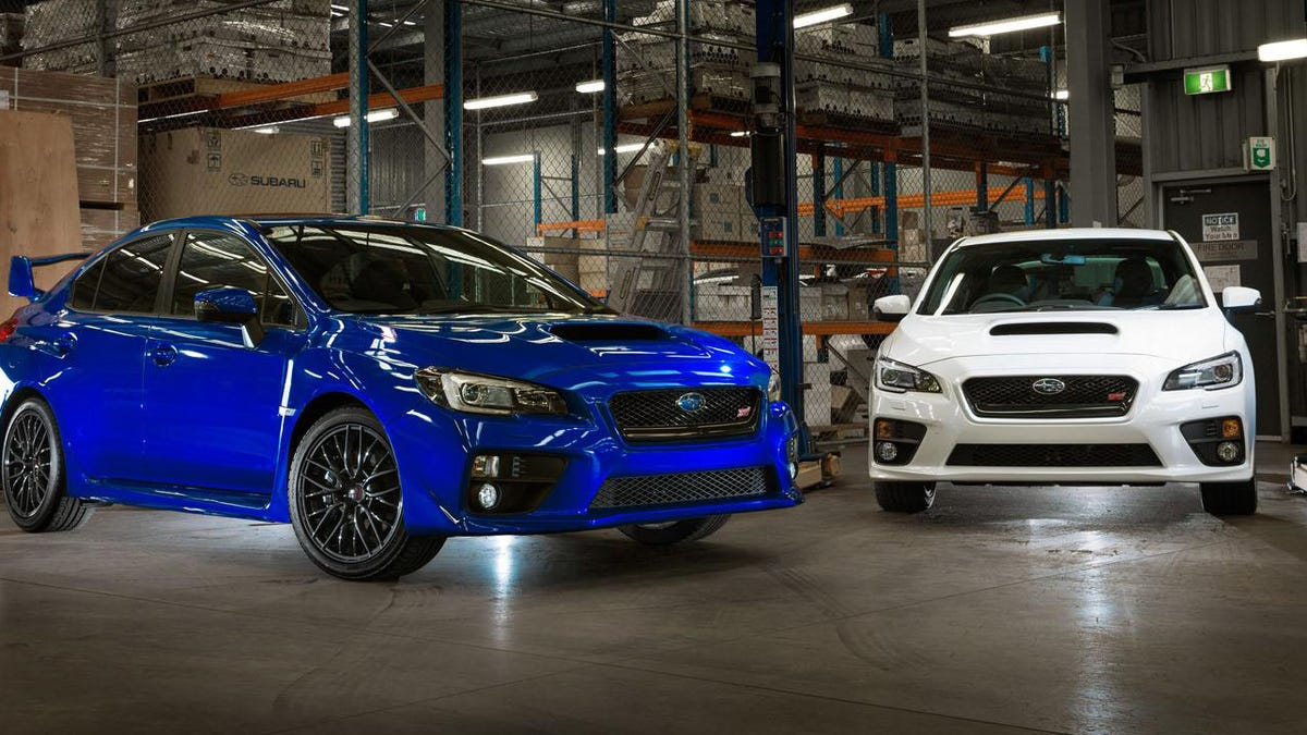 Subaru Sells A WRX STI Rally Car From The Factory