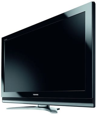 Illustration for article titled Toshiba Launches New X and Z Series Full HDTV, Still Searching For Y
