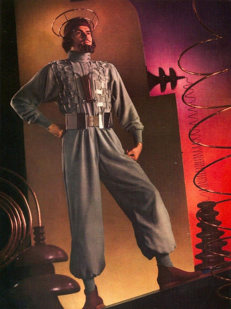 Illustration for article titled Bearded Men of the 21st Century (1939)