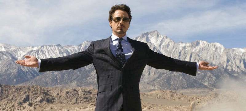 Robert Downey Jr. as Tony Stark in the first Iron Man. A lot has changed since then. Image: Paramount