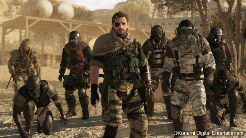 Illustration for article titled Metal Gear Online Is...Metal Gear Solid V'sMultiplayer