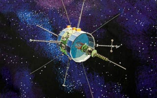 Illustration for article titled Watch ISEE-3's Lunar Flyby at 1:30pm ET