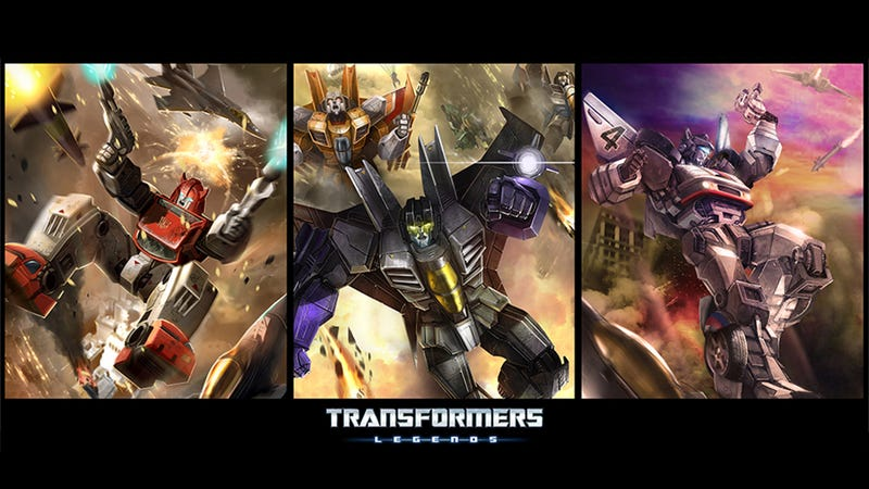 Illustration for article titled Transformers Legends Is Now On iOS. Here's How to Play It.