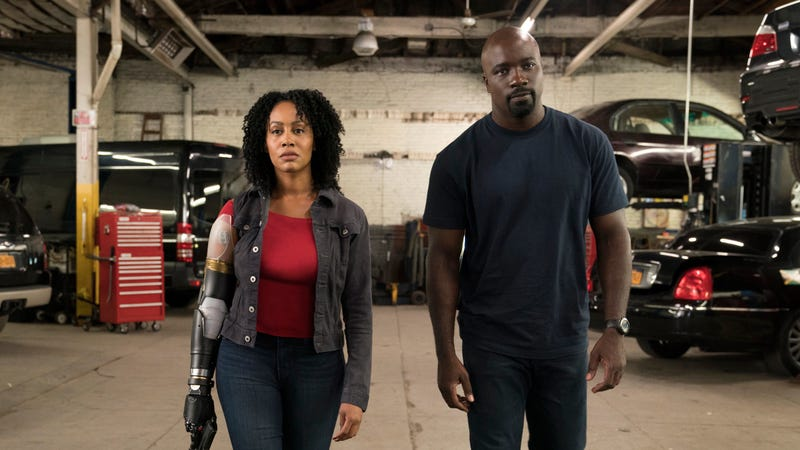 Simone Missick as Misty Knight in Marvel's Luke Cage, which has been canceled on Netflix.
