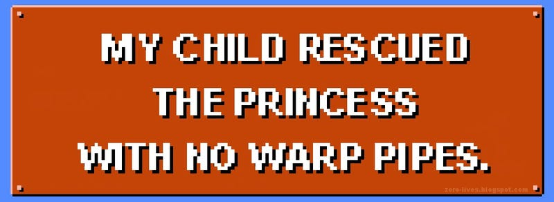 Illustration for article titled Bumper Stickers For Proud Gamer Parents