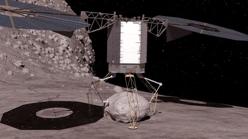 Illustration for article titled La NASA detalla su plan para capturar un asteroide y traerlo a la Luna