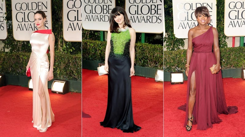 Illustration for article titled The Good, Bad & Hideously Ugly of the 2012 Golden Globes Red Carpet