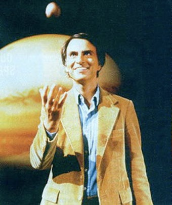 Illustration for article titled Little Known Fact: Astronomer Carl Sagan Was A Stoner