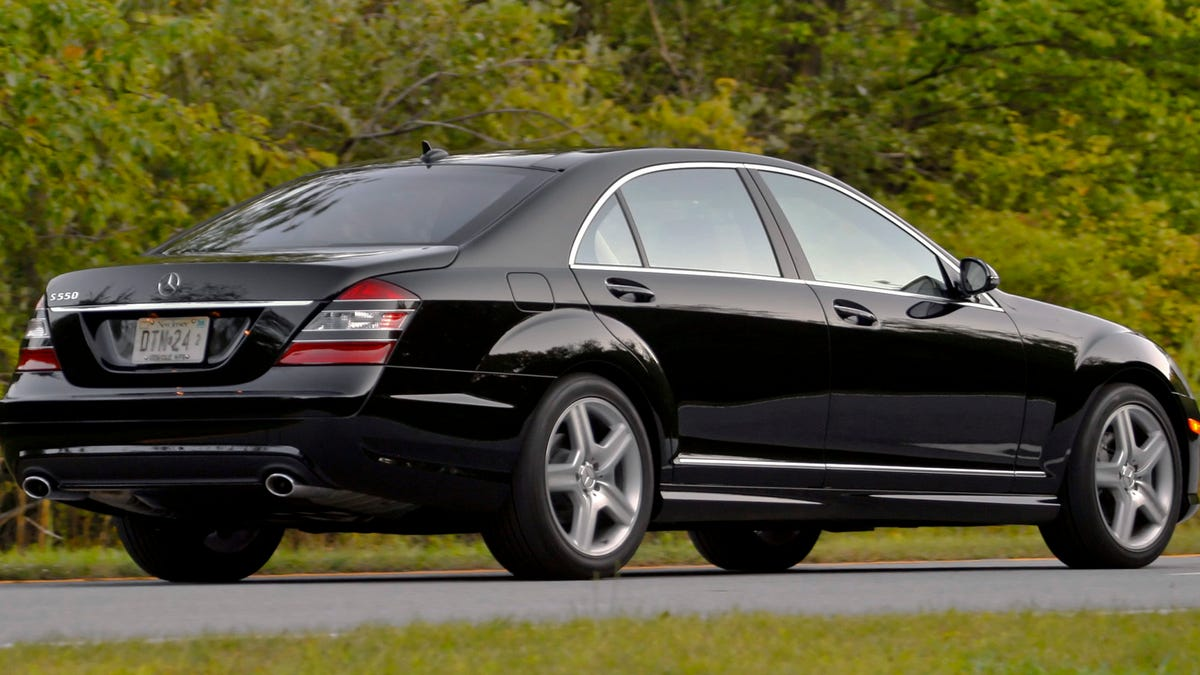 For The Love of God, Don't Ever Buy A 2007 Mercedes-Benz S550