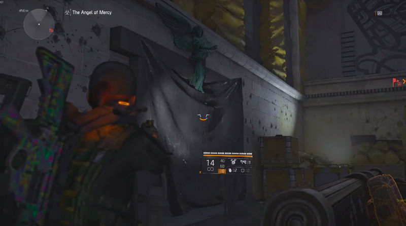 This image of The Division 2 would be even darker if not for the addition of—gasp—a flashlight! Coming soon to the game, it seems.
