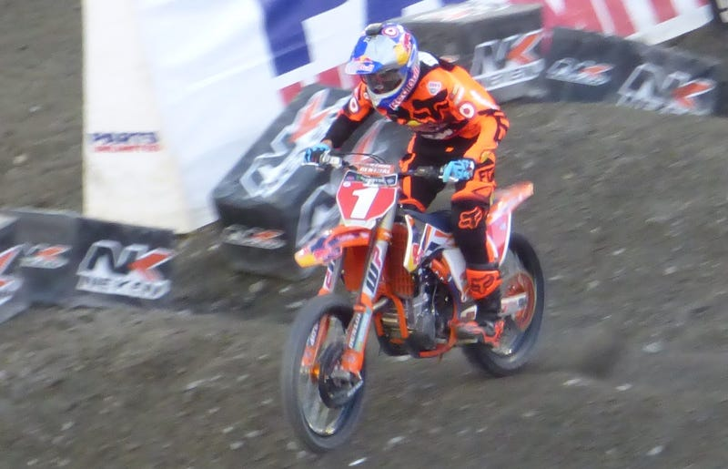450SX rider Ryan Dungey