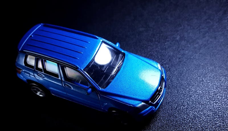 Illustration for article titled A blue Merc