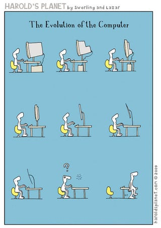 Illustration for article titled The Evolution of the Desktop Computer