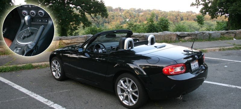 Illustration for article titled Can You Still Have An Awesome Time In An Automatic Mazda Miata?