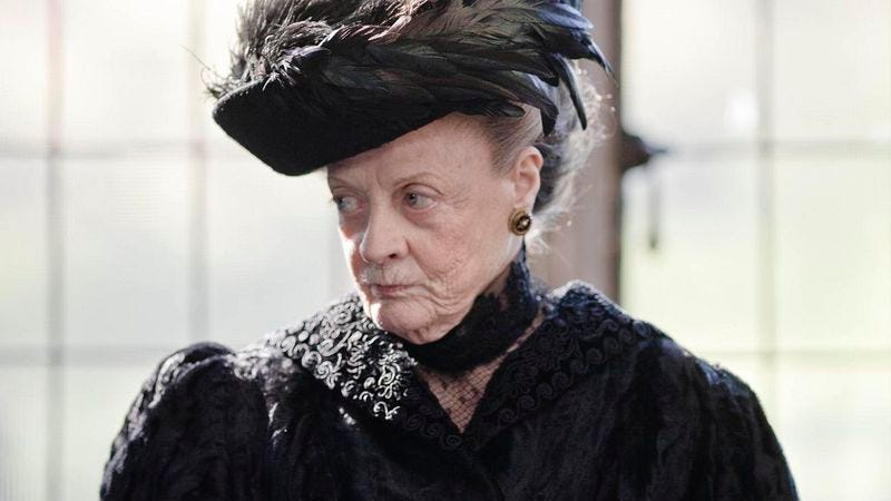 The Dowager Countess does not approve