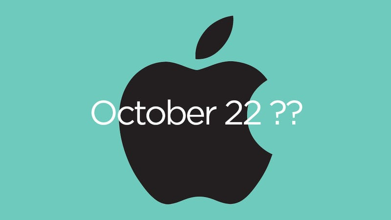 Illustration for article titled Report: Apple Is Holding an iPad Event October 22