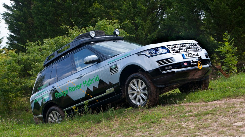 Illustration for article titled Land Rover Launches Its First Hybrid Range Rover Models
