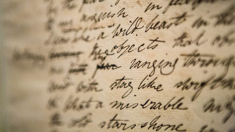 Mary Shelley's draft manuscript of Frankenstein. All images courtesy The Rosenbach