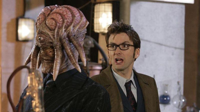 """Illustration for article titled Doctor Who: """"Daleks In Manhattan""""/""""Evolution Of The Daleks"""""""
