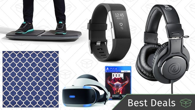 Sunday's Best Deals: Rugs, Headphones, Fitbits, President's Day Sales, and More