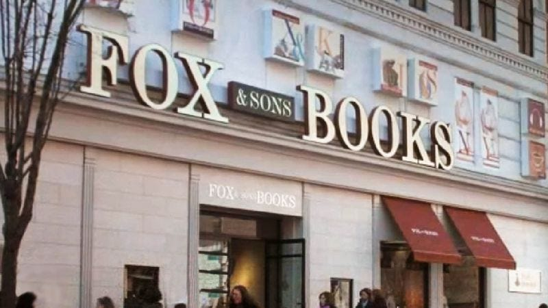 The Fox Books flagship store in Manhattan, which is set to close this year.