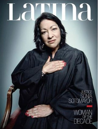 """Illustration for article titled Justice Sotomayor's Red Nail Polish Is """"A Symbol of Her Latina Culture?"""""""