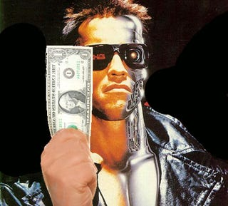 Illustration for article titled James Cameron Sold The Terminator Movie Rights For $1