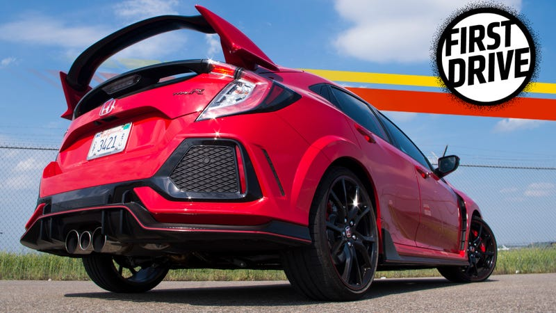 The 2017 Honda Civic Type R Is A Beast But You Won T Forget It S Front Wheel Drive
