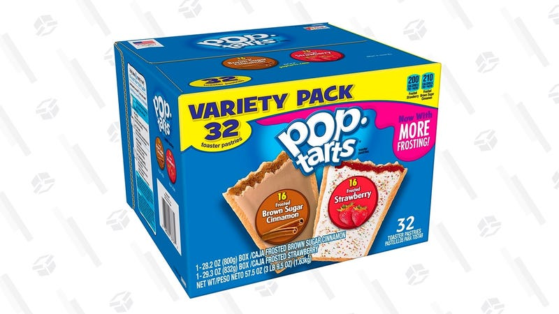 Kellogg's Pop-Tarts Frosted Toaster Pastries Variety Pack | $8 | Amazon | After 20% off coupon