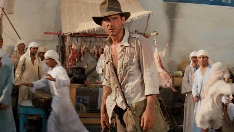 Illustration for article titled There will be no Indiana Jones but Harrison Ford, Spielberg confirms