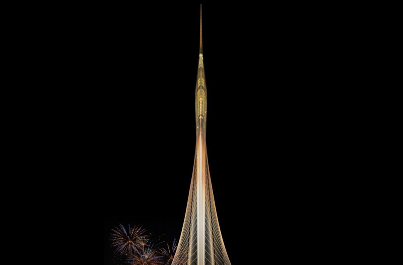 Illustration for article titled How Long Before Dubai's New Observation Tower Is Engulfed in Flames?