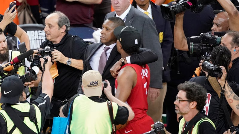 Illustration for article titled Alameda County Sheriff's Office Says Body-Cam Footage Cut Out Right Before Masai Ujiri Allegedly Concussed Deputy