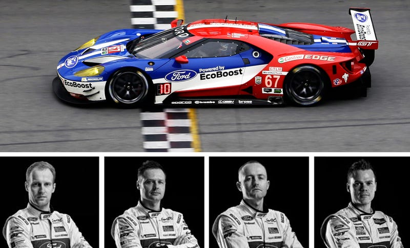 Illustration for article titled Ask The Chip Ganassi Ford GT Racing Drivers Anything You Want Right Now