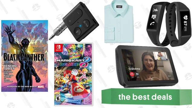 Sunday s Best Deals: Mario Kart 8 Deluxe, Express Clearance Sales, Black Panther Comics, and More