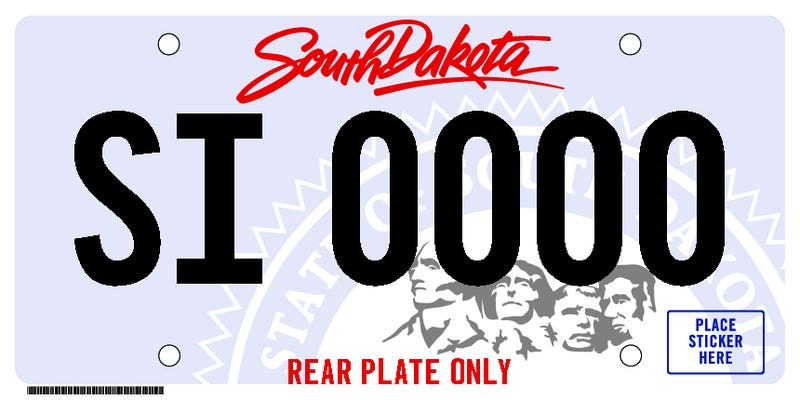 Illustration for article titled We can now have Rear-Only Plates in SD