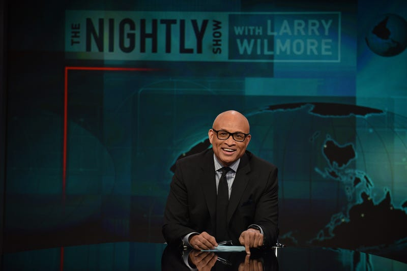 Larry Wilmore on The Nightly Show With Larry Wilmore on Jan. 5, 2016, in New York CityBryan Bedder/Getty Images for Comedy Central