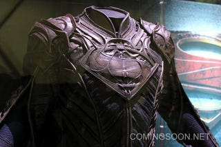 Illustration for article titled A Close Look at the Kryptonian Suits from Man of Steel