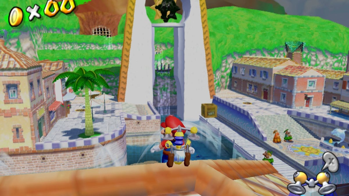 15 years later, Super Mario Sunshine is messier and more