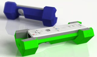 Illustration for article titled Riiflex Weights Make the Wii Fitter