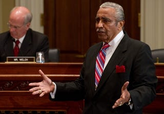 Rep. Charles Rangel at ethics-violations trial