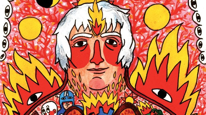 Illustration for article titled Look at The Incantations Of Daniel Johnston and it will look back