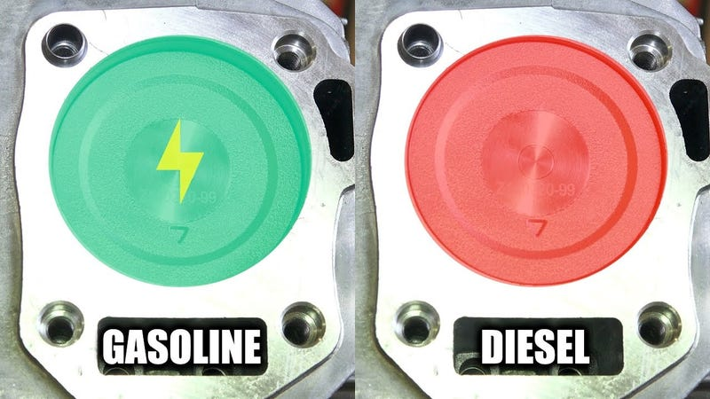 Illustration for article titled Here's Why Diesel Engines Have More Torque Than Gasoline Engines