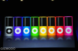 Illustration for article titled The New iPod Nano: It's Skinny Again