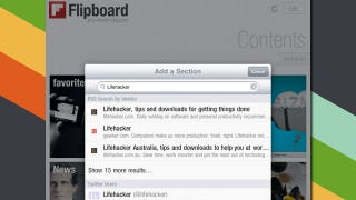 Illustration for article titled Flipboard Integrates Blekko Search for Finding New RSS Feeds on the iPad's Social Magazine