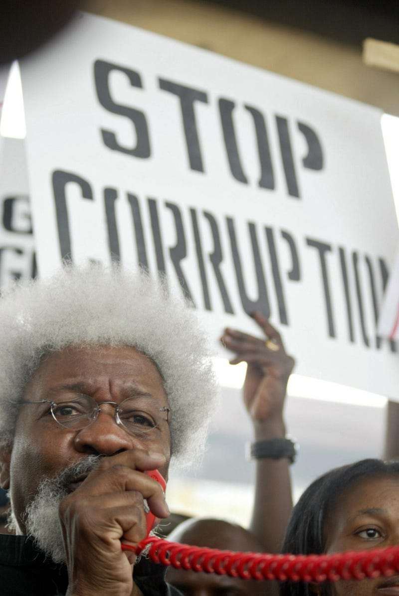 Wole Soyinka in Nigeria in 2006 (PIUS UTOMI EKPEI/AFP/Getty Images)