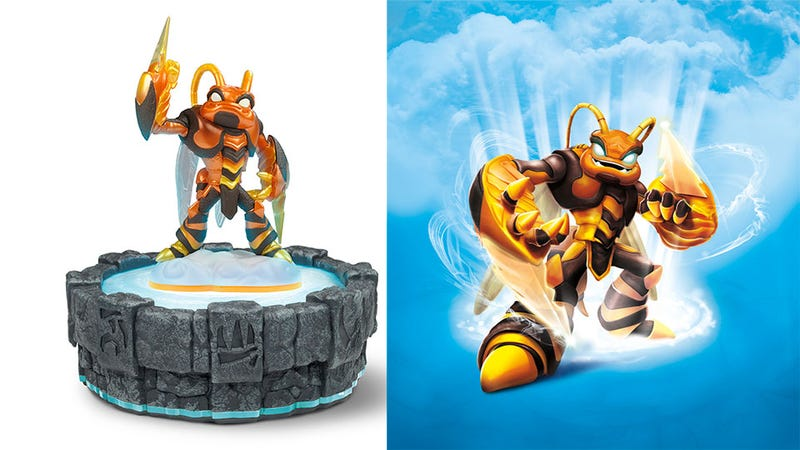 Illustration for article titled The Newest Skylander is a Giant Bee, and They Didn't Name Him Bee-Hemoth